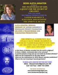 Aleya Annaton Presentations on Nassim Haramein's Theory
